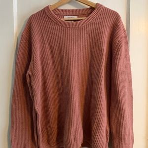 Mens Urban Outfitters Pink Sweater